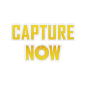 Capture Now Sticker